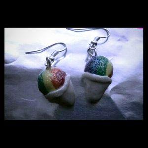Jewelry - Snowcone earrings