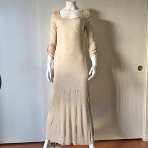 Dresses & Skirts - Beige / Cream Maxi with Pocket