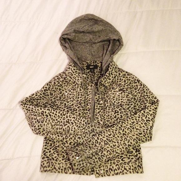 Obey Jackets & Blazers - Obey Leopard Print Jacket