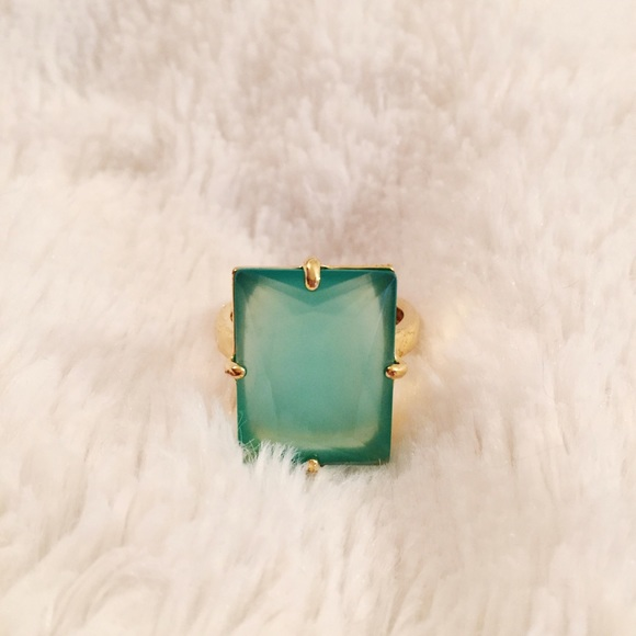 kate spade Jewelry - Green Gem Ring