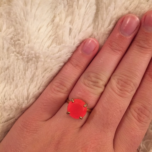 kate spade Jewelry - Neon Pink Gumdrop Ring