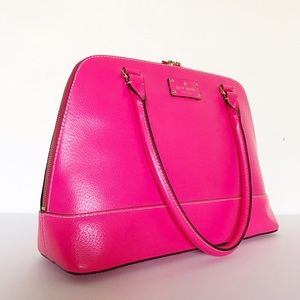 kate spade Bags - Kate Spade Neon Pink Handbag