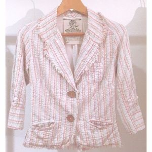 Anthropologie French Terry Jacket Blazer