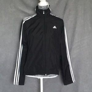 black adidas jacket