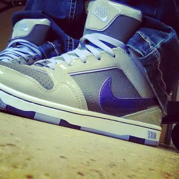 timeless design 906a6 1a9bc Nike dunks purple, grey,   white w  Leopard print.  M 562fa72101985e07a30200d9