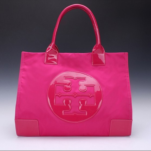 8348fec41a8 Tory Burch Large Ella Tote hot pink. M_562fa94ff739bccf1a001337