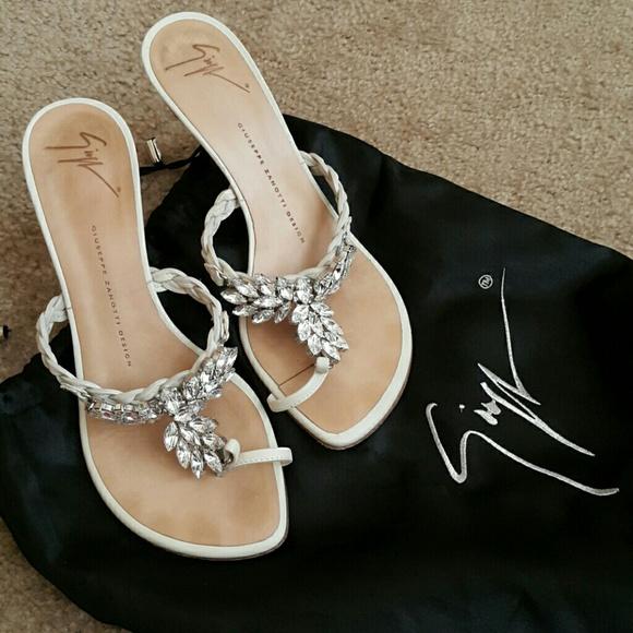 bf9c73c56039 Giuseppe Zanotti Shoes - Giuseppe Zanotti jeweled sandals