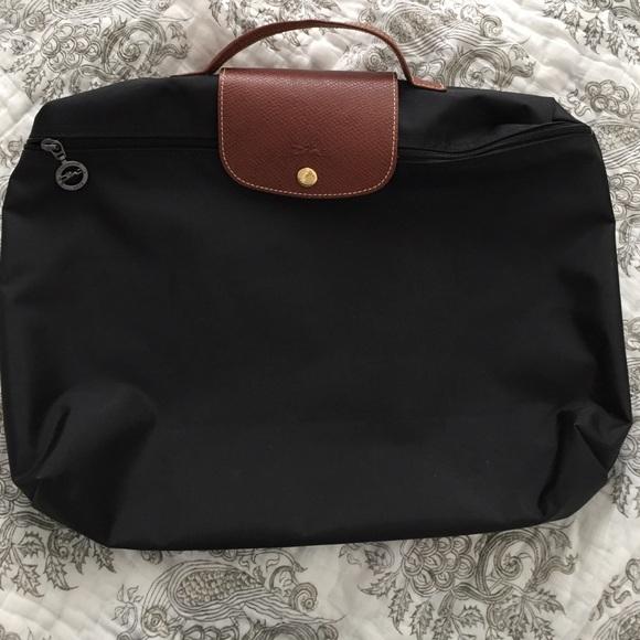 61c335c94395 Longchamp Handbags - Longchamp Le Pliage Document Holder  Laptop bag