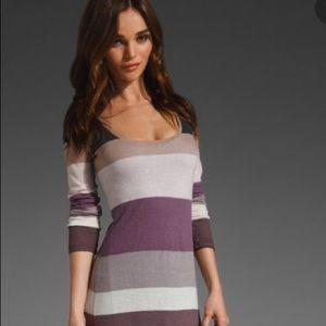 Splendid Long-sleeved Maxi Dress small