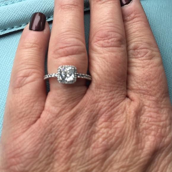 dc3adc331 Pandora Sterling Silver CZ Ring. Size 7.5. M_562fca6178b31cebff0020f8
