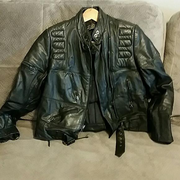 Hein Gericke Leather Jacket Harley Davidson