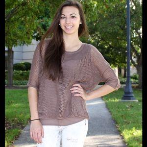 Tops - 🆕 Miilla contrast blouse