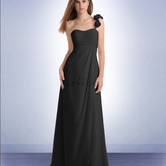 78% off Bill Levkoff Dresses & Skirts - Bill Levkoff size 16 black ...