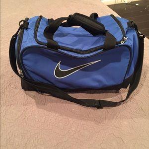 f260b75e750c Nike Bags - Nike Brasilia 5 Blue and Black Large Duffel Bag