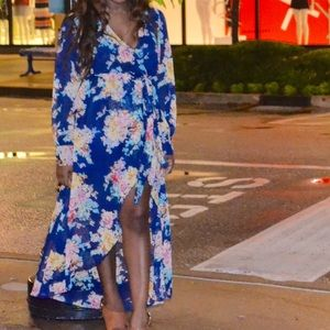 Love Culture Dresses & Skirts - High-low floral dress