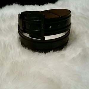Simply Vera dark brown belt