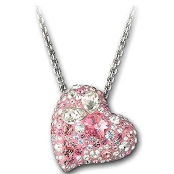 62 off swarovski jewelry swarovski alana heart pendant necklace swarovski alana heart pendant necklace aloadofball Gallery