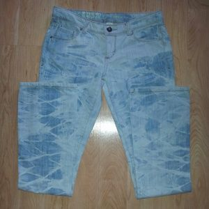 Denim - ~EUC~ MOSSIMO Tie Dye Look Straight Leg 5