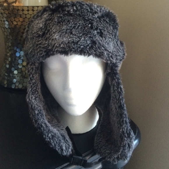 b554d0b463546a Dockers Accessories | Grey Beanie Trapper Hat With Ear Coverage ...