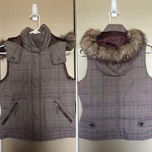 Plaid Puffer Jacket