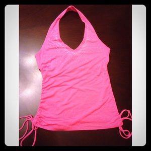 Hot Pink Forever 21 Halter Top
