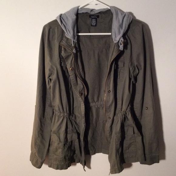Rue 21 - Rue21 Olive Green Utility Jacket From Katelynu0026#39;s Closet On Poshmark