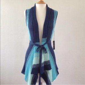 BCBGMaxAzria Tops - BCBG MaxAzria Belted Vest
