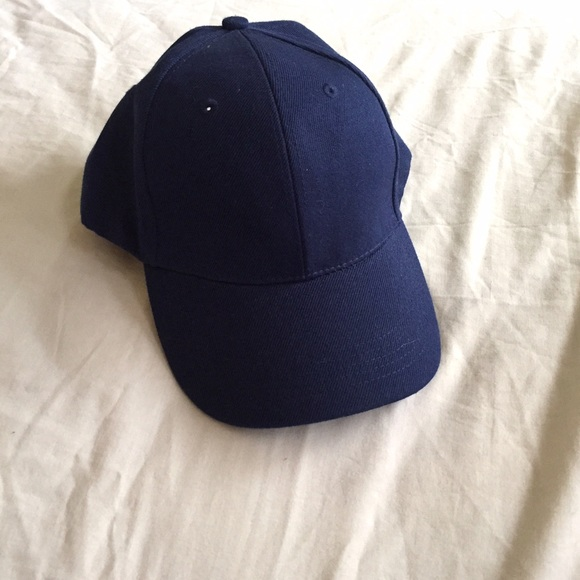 fcb1f05585 Accessories - Plain Navy Blue Baseball Cap