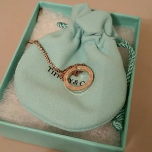 Tiffany & Co Ring Necklace