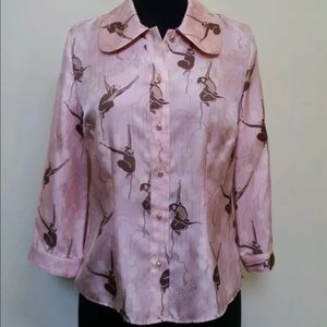 Anthropologie Tracy Reese silk blouse 4