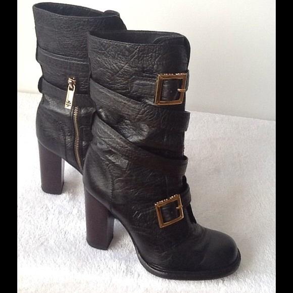 a9984d95375e Tory Burch Chocolate Brown  Jaden  Mid Calf Boot. M 56301f80eaf030e2f5001e5e