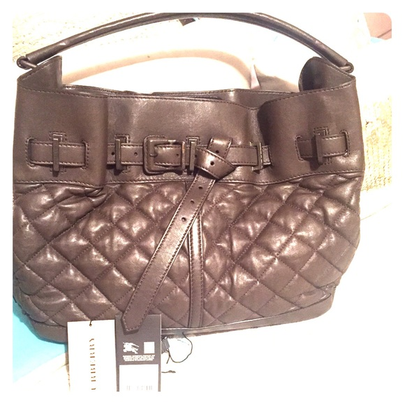 Burberry Bags   Salebrand New Quilted Hobo   Poshmark 9667078c43
