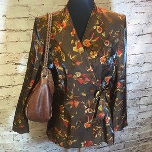 Le Suit Jackets & Blazers - SZ 10 LE SUIT FALL WRAP STYLE BLAZER/JACKET