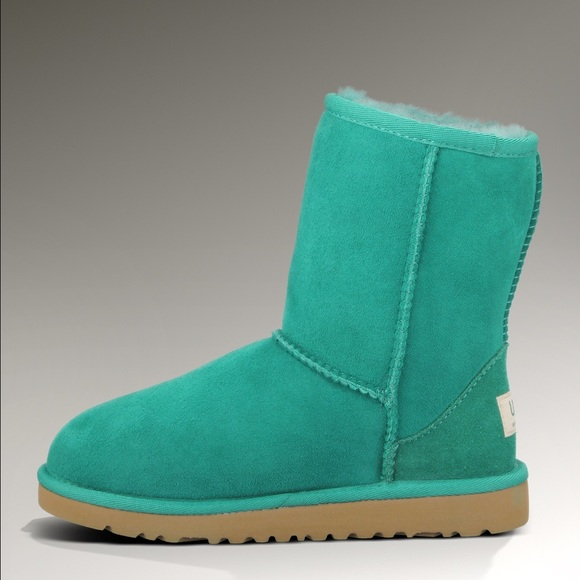 381f1bf2d94 ♡ Short Turquoise UGG Boots ♡