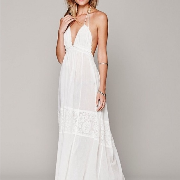Summer White Maxi Dress