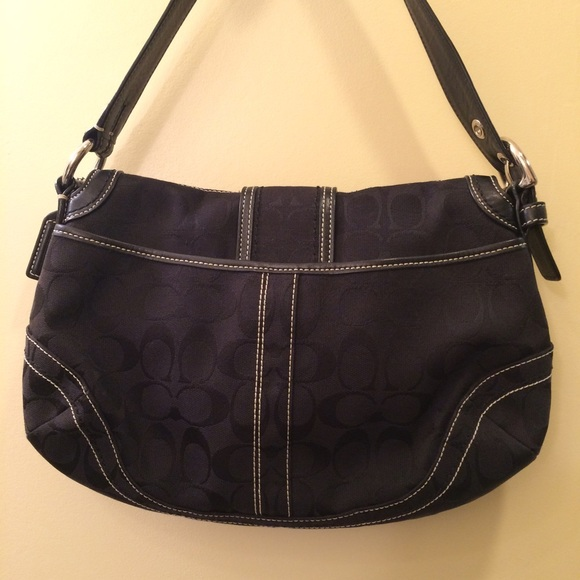 ... Shoulder Bag 16503 Coach Bags - Coach 10297 Soho Signature Big Flap  Hobo Bag ... c3f06ba233353