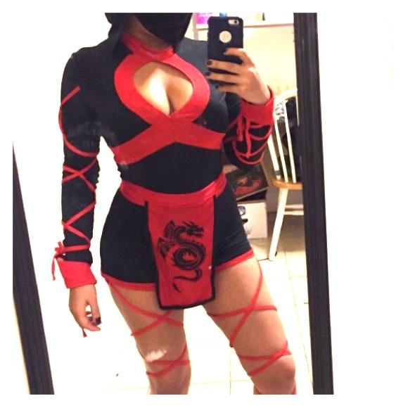 Ninja Halloween Costumes For Womens