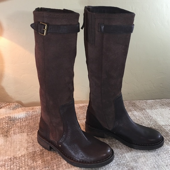 Ugg Boots Leather Tall