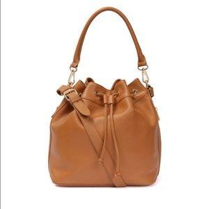 Ora Delphine Bucket Bag Brown