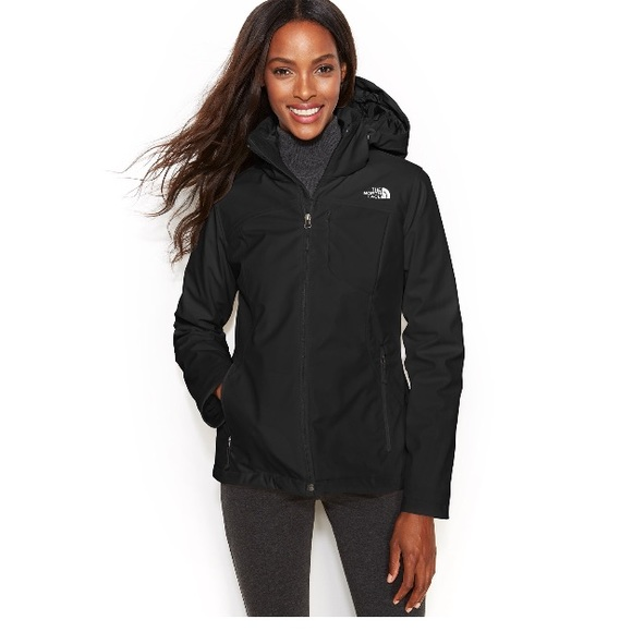 The north face rissy women's long hooded jacket