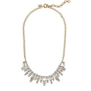 *SOLD* Jcrew crystal statement necklace