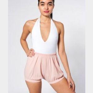 American Apparel Pink Bloomer Short
