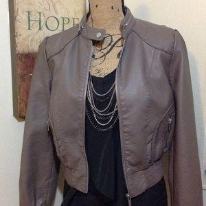 [BOGO 50%] Outer Edge Faux Leather Jacket