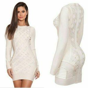 Dresses & Skirts - Superior quality vegan leather lattice