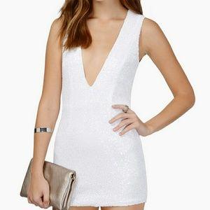 Tobi Sequin Dress NWOT