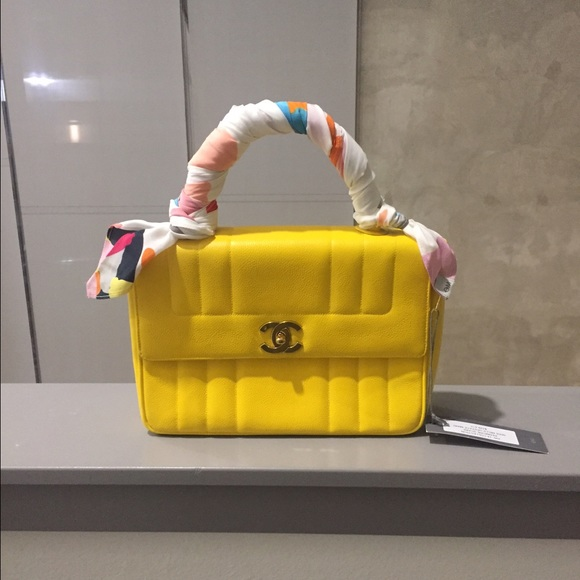 de0c8d36540054 CHANEL Bags | Sold Authentic Yellow Caviar Kelly Purse | Poshmark