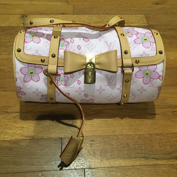 366487ccd4b1 Louis Vuitton Handbags - Louis Vuitton Limited Ed Cherry Blossom Papillon