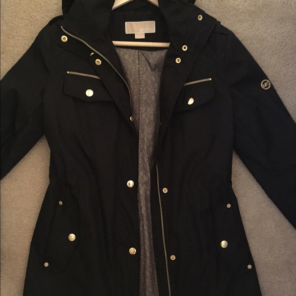 Womens Black Anorak Jacket