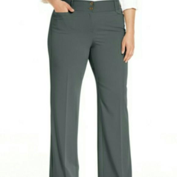 Alfani Pants Plus Size Curvyfit Slimming Bootcut Poshmark