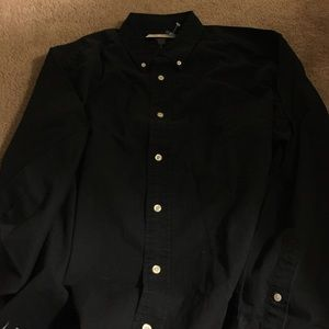 Eddie Bauer Tops - SALE - NWT mens blk button down eddie bauer Medium